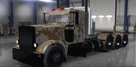 hunting truck for camo 389 for ats euro truck simulator 2 mods