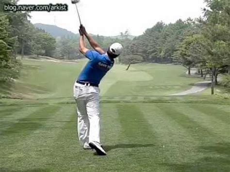 golf swing slow 300fps bae sang moon slow motion driver golf swing 6