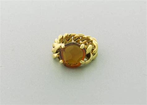 Just A With This Quartz Ring From Lola by Pomellato Lola Madeira Quartz Gold Ring At 1stdibs