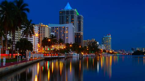 imagenes de miami usa wallpaper miami usa night coast rivers cities houses 2560x1440