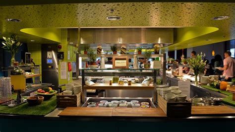 Micro Kitchen Design inside google s global canteen
