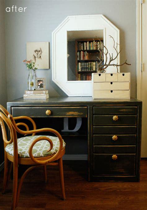 Refinish Desk by Before After Rustic Refinished Desk Design Sponge