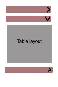expandable layout in android github tablelayout expandable list view with table layout in