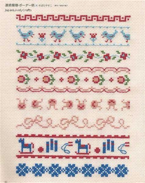 500 motifs pattern stitches techniques easy cross stitch technique 500 patterns japanese