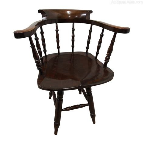 swivel captains chairs solid stained beech swivel captains chair antiques atlas