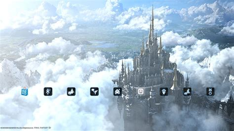 ps4 themes fallout final fantasy xiv heavensward ออกเคร องลายพ เศษบน ps4