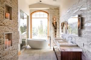 Mountain Home Bathroom Design 21 Gorgeous Contemporary Bathrooms Featured In Mountain
