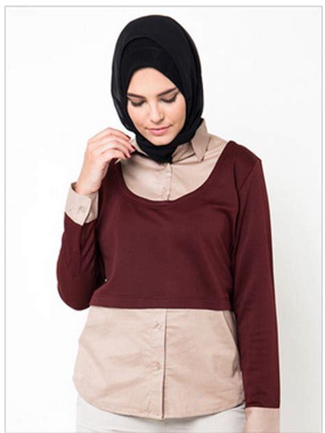 desain kemeja muslim 11 gambar model kemeja wanita muslim modern terbaru 2016