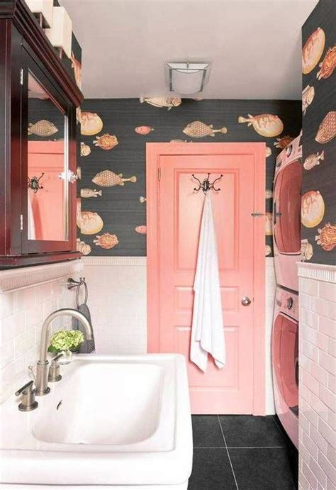 wallpaper ideas for small bathroom 25 best ideas about coral bathroom on coral