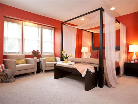 orange master bedroom photo page hgtv
