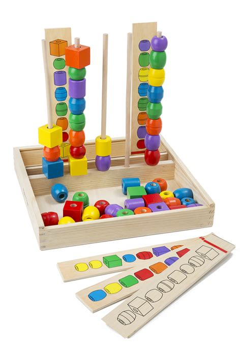 bead toys bead sequencing set classic baby clothing