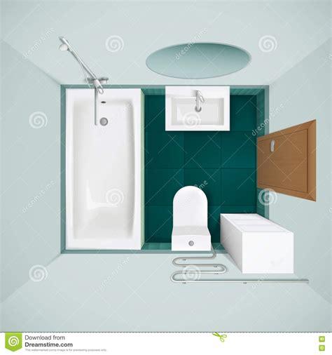 bathtub top bathroom top view