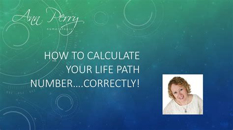 How To Calculate Numerology Number Numerology How To Calculate Your Path Number Correctly