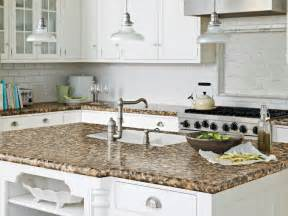 ideas for kitchen countertops laminate kitchen countertops pictures ideas from hgtv