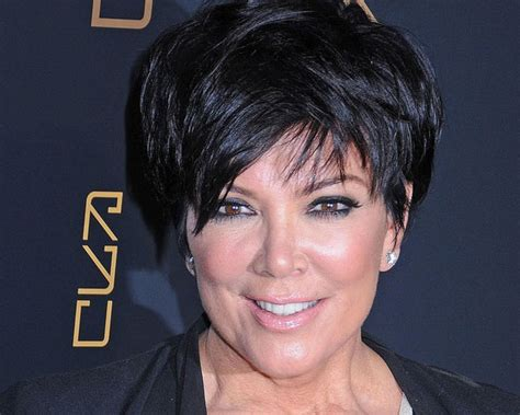 pic of back of kris jenner hair cut kris jenner and her short layered haircut hair world