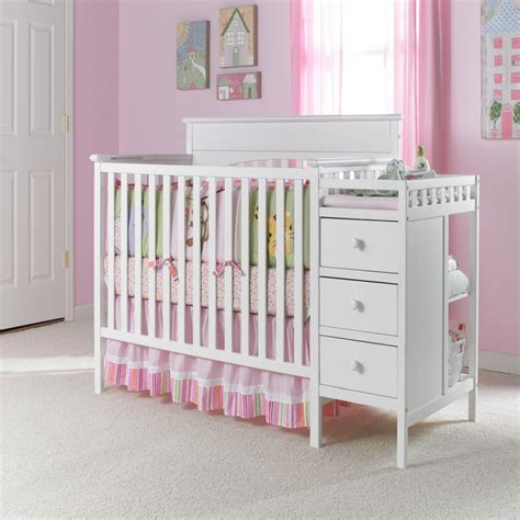 White Cribs With Changing Table Graco Crib And Changing Table In Classic White 329 All Things Baby Tots