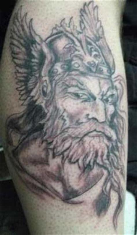 old man tattoo viking