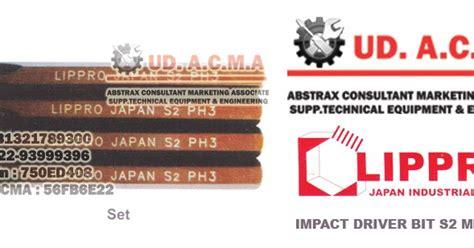 Lippro 4 Way Wrench Kunci Palang 15 7200 1 impact driver bit s2 material lippro abstrax consultant marketing associate