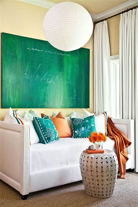 turquoise and orange decor becoration colors of nature 22 turquoise interior design ideas