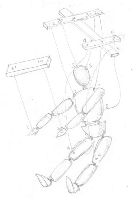 marionette layout view tutorial 11 string marionette happy little things to make