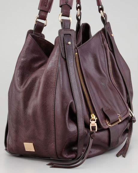 Neiman Sale Continues With Goods From Marc Kooba Tracy by Kooba Jonnie Hobo Prune In Purple Prune Lyst