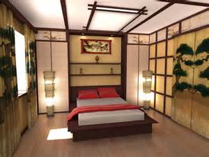 asian style bedroom ceiling design ideas in japanese style