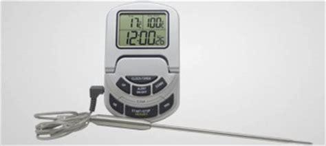 thermom鑼re de cuisine professionnel thermom 232 tre de cuisine thermometres et minuteurs de