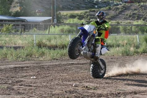 Big wheel (fat tire) YZ450 craigslist find   Moto Related