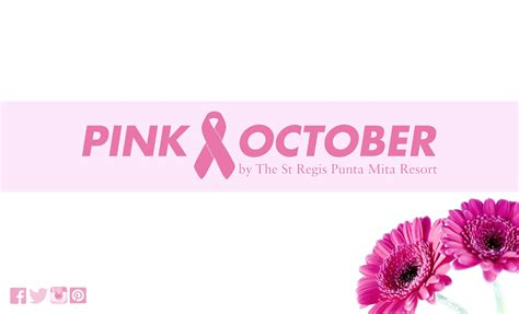 Pink At The by Think Pink With The St Regis Punta Mita Pink October