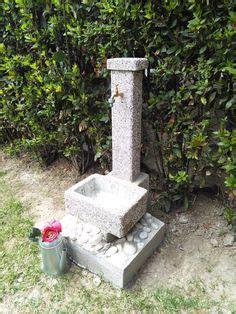 more da giardino fontana da giardino mod fonte casale finitura