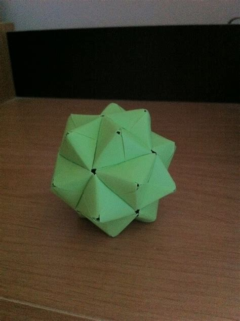 Module Origami - origami images sonobe stellated icosahedron hd wallpaper