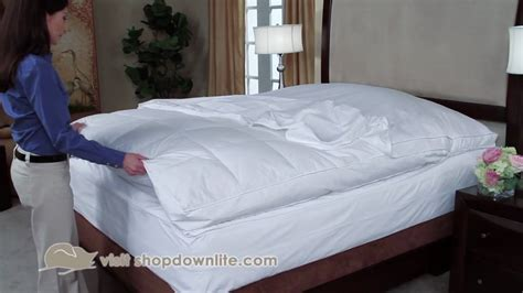 feather bed cover feather bed cover