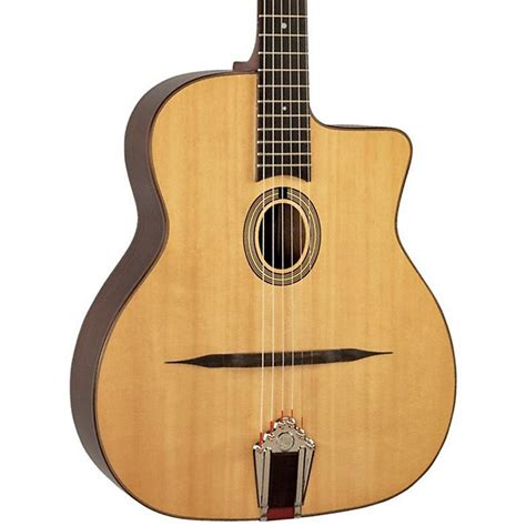 swing acoustic guitar paris swing model 39 gypsy jazz acoustic guitar musician
