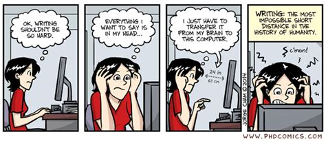 phd comics thesis phd comics writing the most impossible distance in