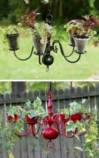 Ornament Chandelier Diy 25 Diy Low Budget Garden Ideas Diy And Crafts