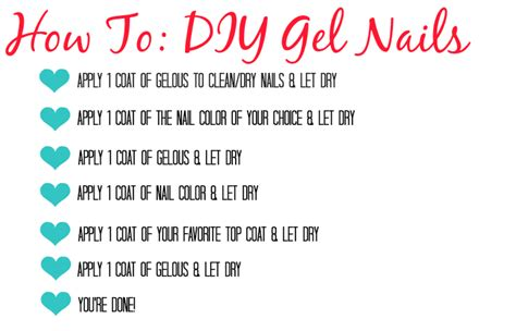 diy gel manicure with no l let s talk about lipstick