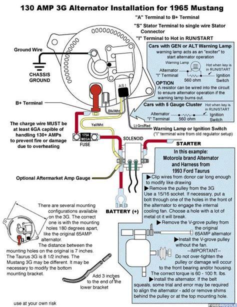 ford alternator wiring diagram wiring diagram blog ford  pinterest ford ford