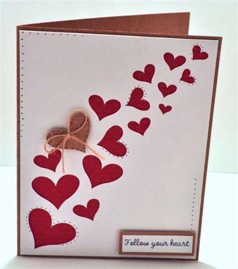 Handmade Card Templates - handmade greeting cards for valentines day 0handmade cards