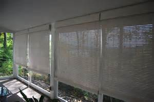 Porch Blinds Wooden Roll Up Porch Shades Yelp