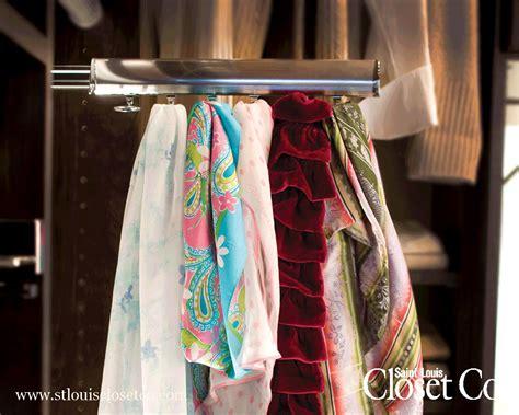 Scarf Racks For Closets chrome scarf racks louis closet co