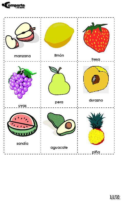 rimas con frutas aprendo y juego en ingles