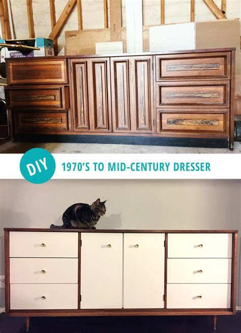 diy dresser diy mid century modern dresser and then we tried