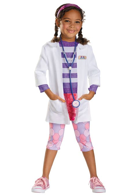 toddler girls halloween costumes toddler doc mcstuffins deluxe costume