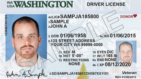 washington state id card template new standard wa driver s licenses still won t get you