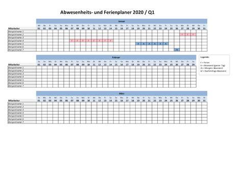 ferienplaner  excel vorlage gratis schweiz kalenderch