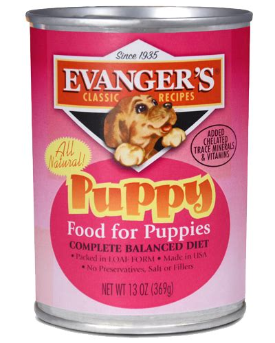 evangers food evangers classic puppy canned food petflow