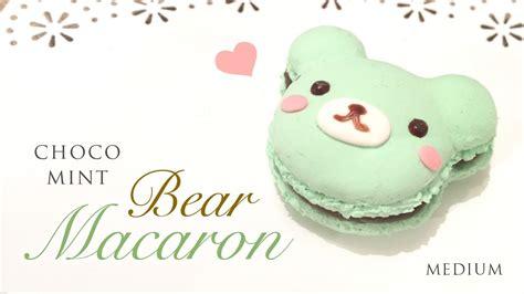 Paper Clay Crafts - diy mint chocolate macaron tutorial kawaii paper