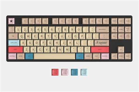 scrabble official keyboard hasbro and massdrop team for official