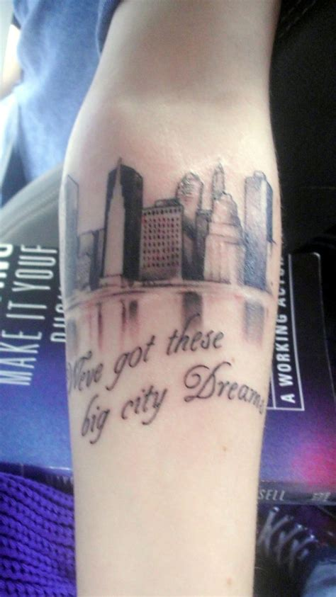 all city tattoo want this but with the lyrics quot i swear i d burn this city