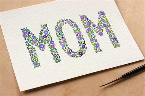 Diy Mothers Day Cards | diy watercolor mother s day card free printable